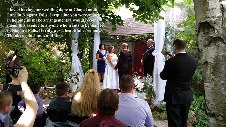 Niagara Elope Small Wedding Ceremony Packages
