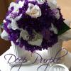 """ Deep Purple "" ____ Grande  __bouquets are made to order and may differ slightly, due to availability of materials."