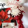 """ December "" ___Medium size  __bouquets are made to order and may differ slightly, due to availability of materials."